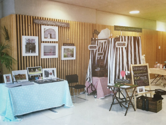 Lee Garland Wedding Photography and Vintagebooth.me photo booth stand at WEWAD Nottingham